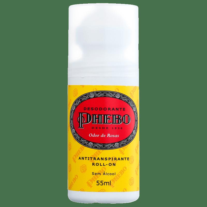 Phebo Desodorante Odor de Rosas Roll-on 55mL