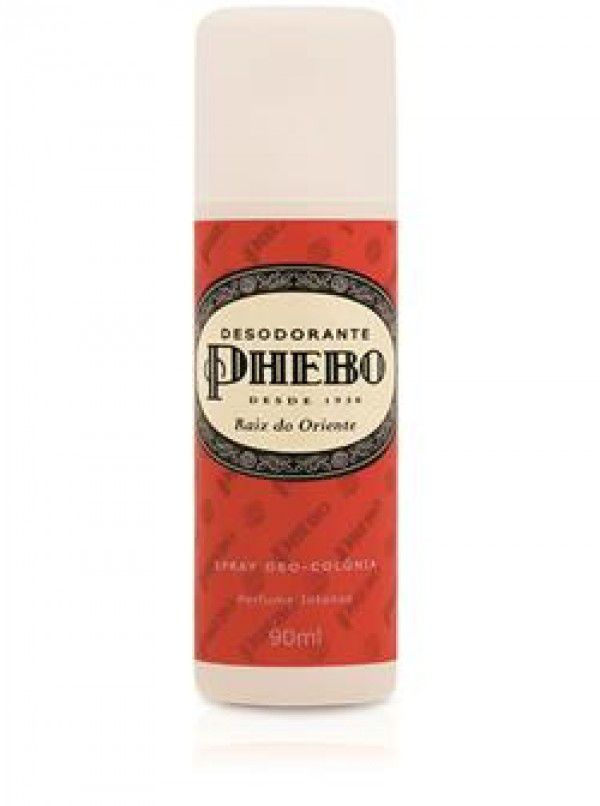 Phebo Desodorante Spray Raiz do Oriente 90mL