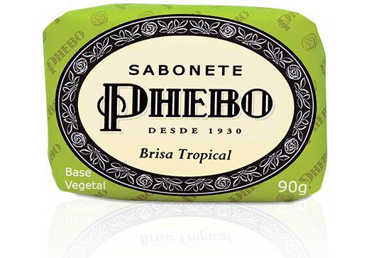 Phebo Sabonete Brisa Tropical 90g