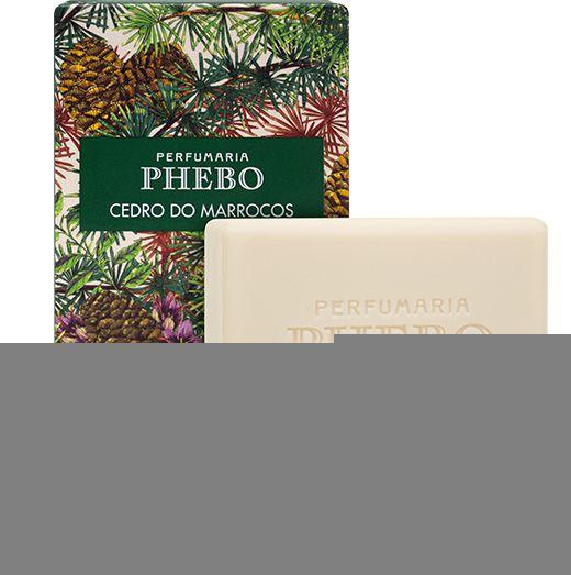 Phebo Sabonete Cedro do Marrocos 100g