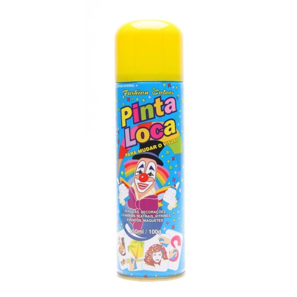 Pinta Loca Tinta Spray Amarelo 150mL