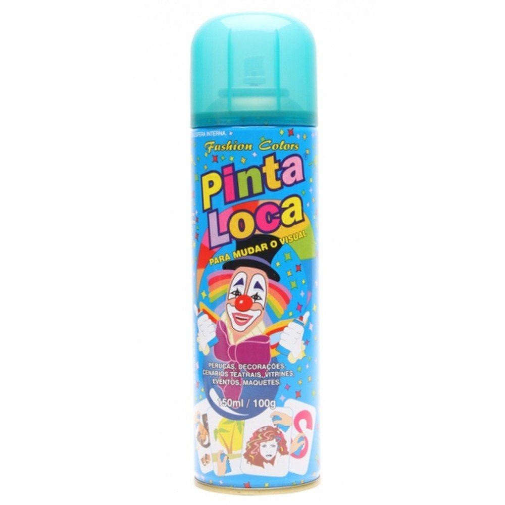 Pinta Loca Tinta Spray Azul Claro 150mL