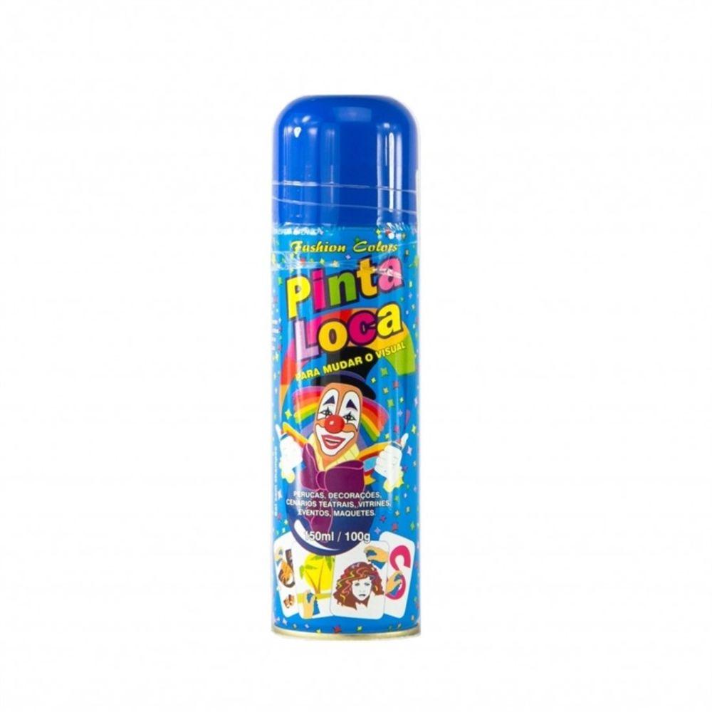 Pinta Loca Tinta Spray Azul Escuro 150mL