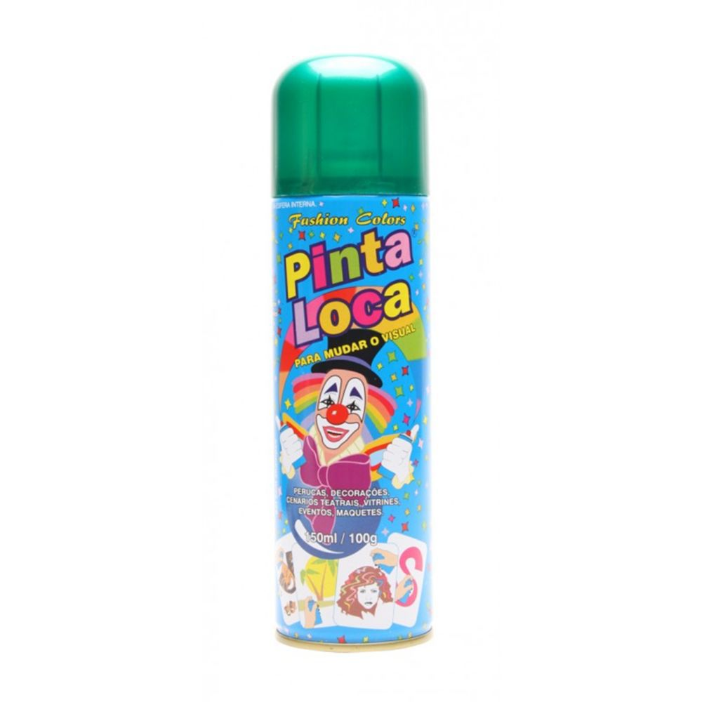 Pinta Loca Tinta Spray Verde 150mL