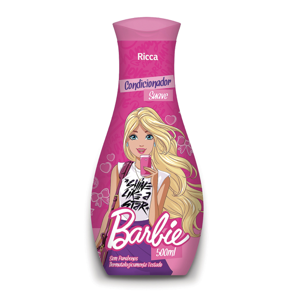 Ricca Condicionador Barbie Suave 500mL