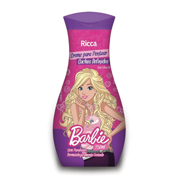 Ricca Creme para Pentear Barbie Cachos Definidos 250mL