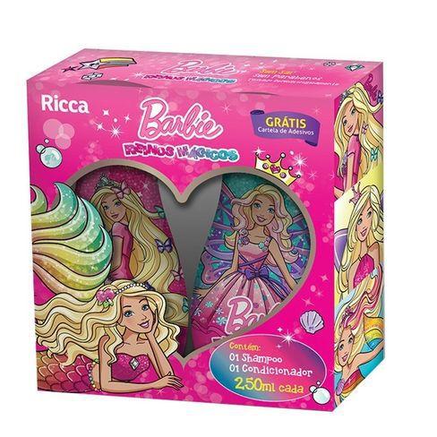 Ricca Shampoo + Condicionador Barbie Reinos Mágicos 250mL