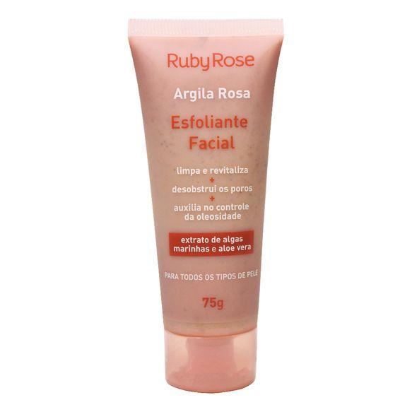 Ruby Rose Esfoliante Facial Argila Rosa 75ml