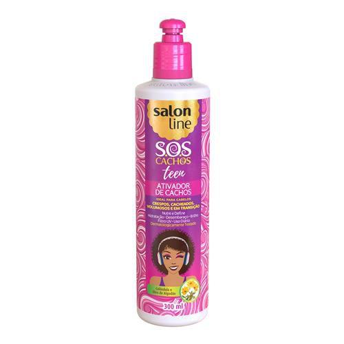 Salon Line Ativador de Cachos S.O.S Cachos Teen 300ml