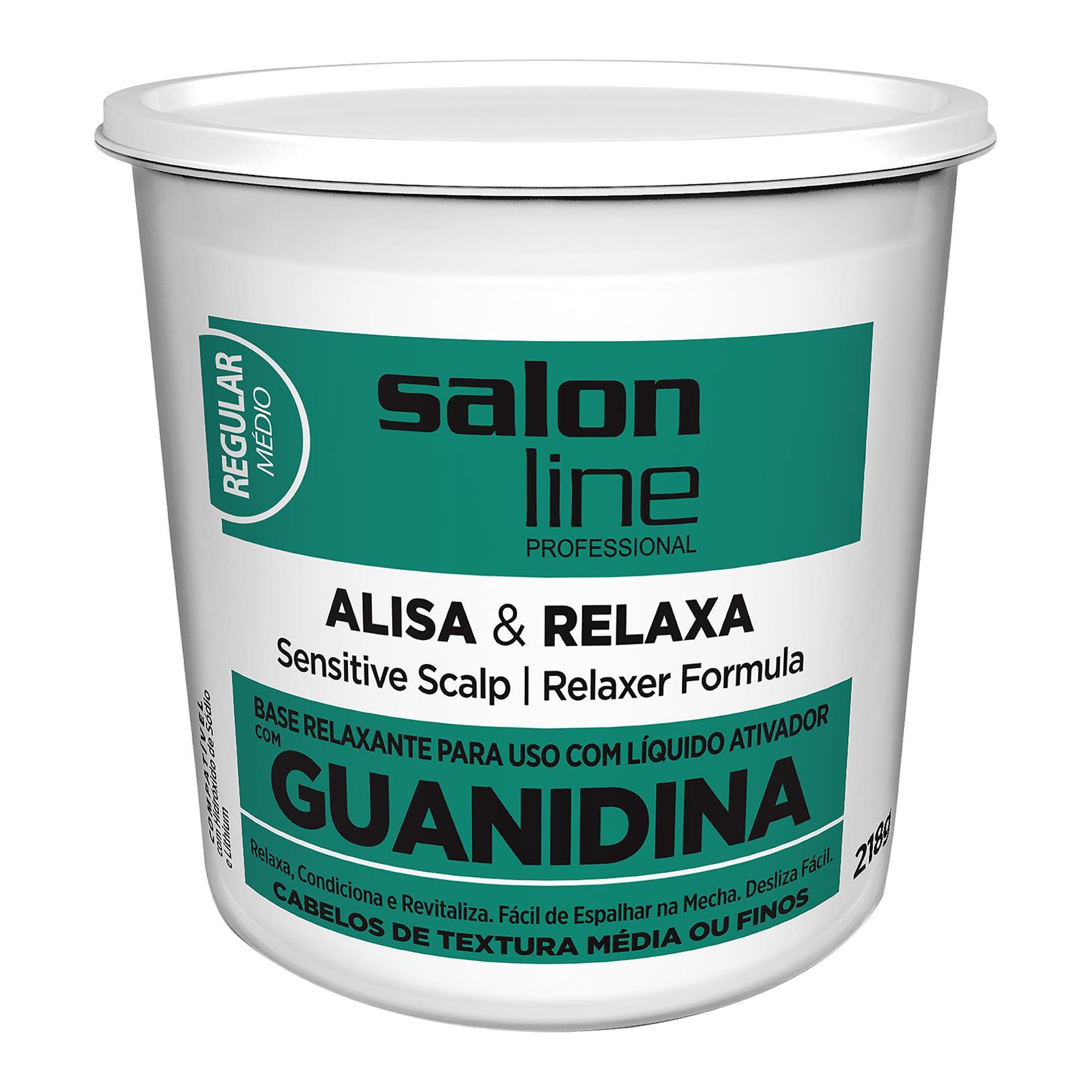 Salon Line Base Relaxante de Guadinina Alisa & Relaxa Regular 215g