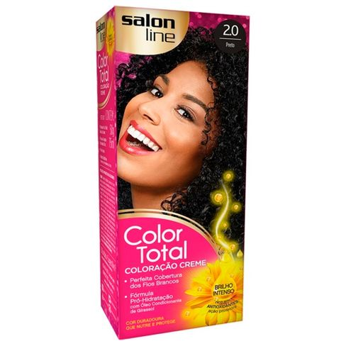 Salon Line Coloração Color Total 2.0 Preto