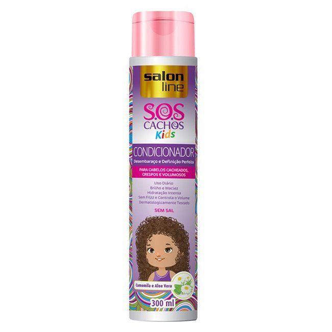 Salon Line Condicionador S.O.S Cachos Kids 300ml