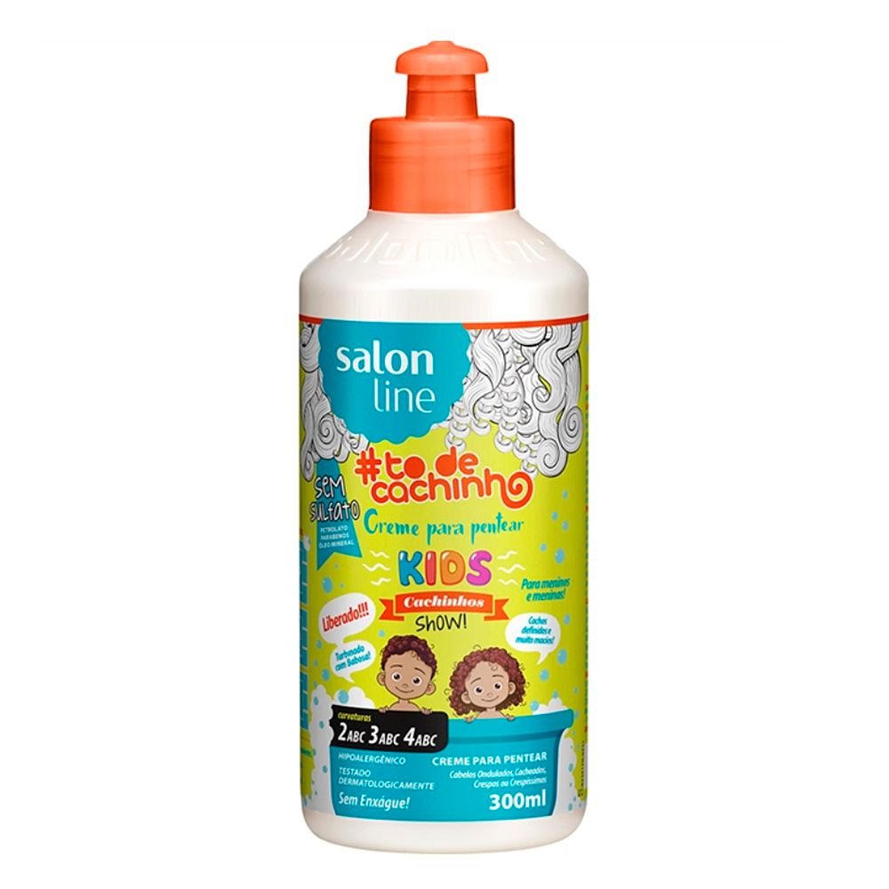 Salon Line Creme para Pentear #TodeCachinho Kids 300ml