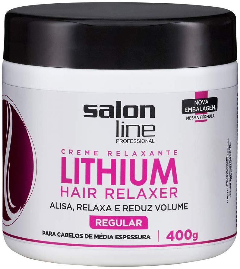 Salon Line Creme Relaxante Lithium Regular 400g