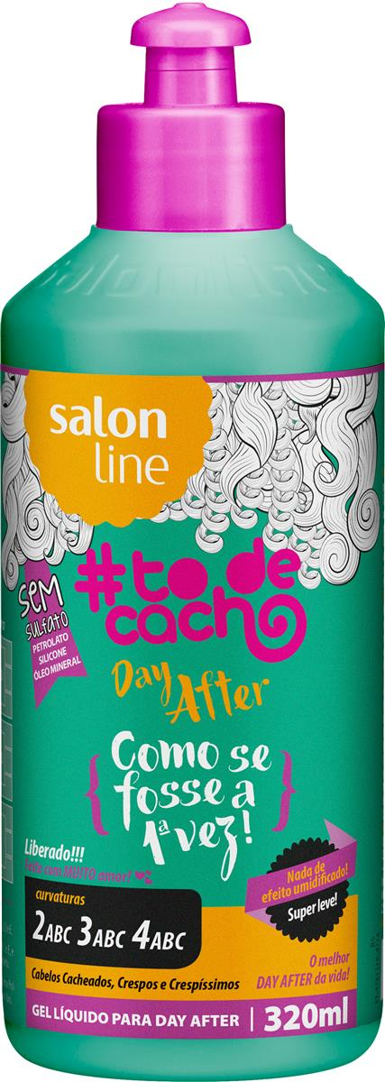 Salon Line Gel #TodeCacho Day After 320ml