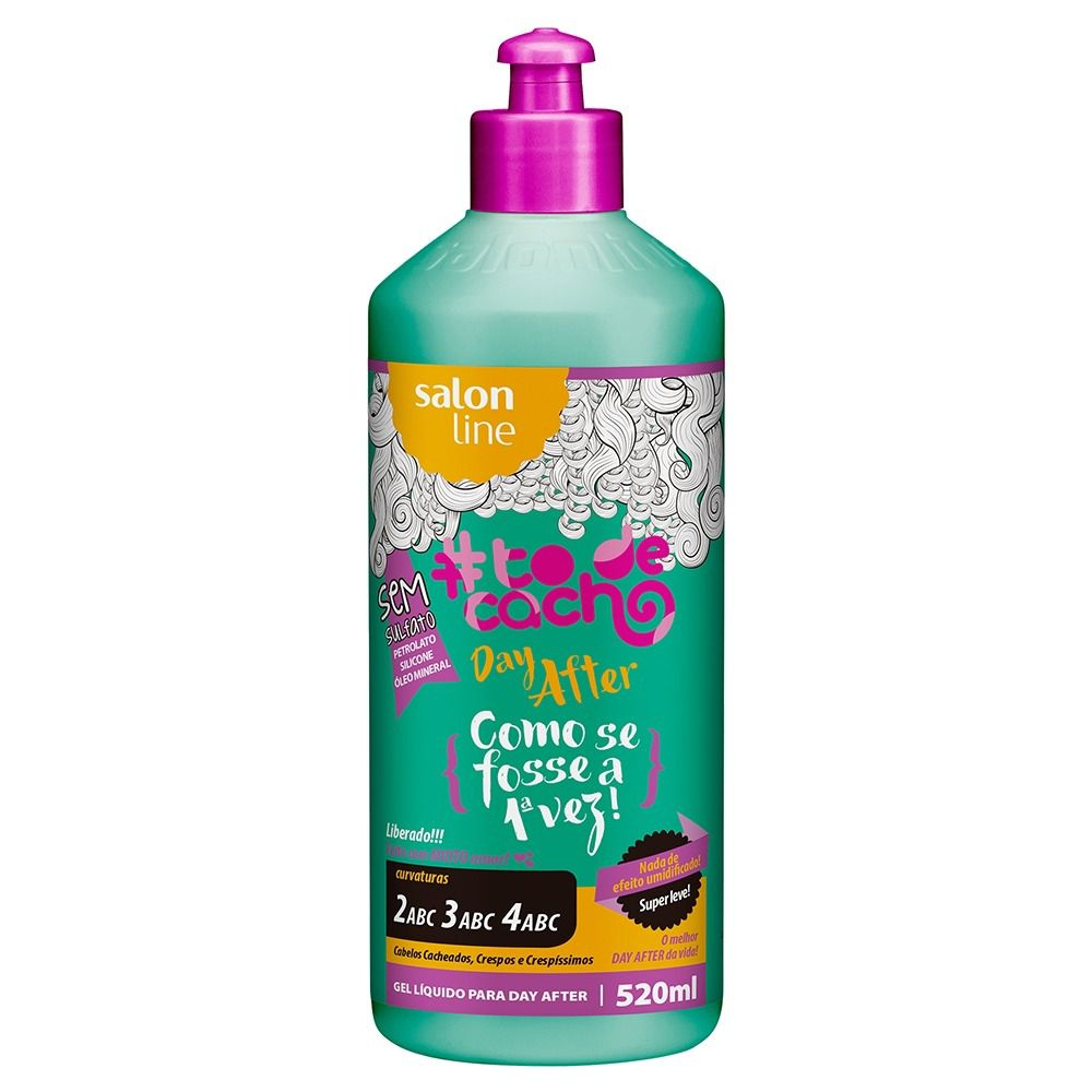 Salon Line Gel #TodeCacho Day After 520ml