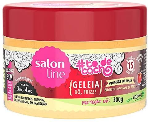 Salon Line Gelatina #TodeCacho Vinagre de Maçã 300g