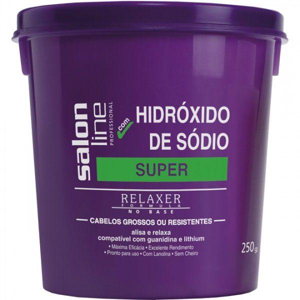 Salon Line Hidroxido de Sódio Super 250g