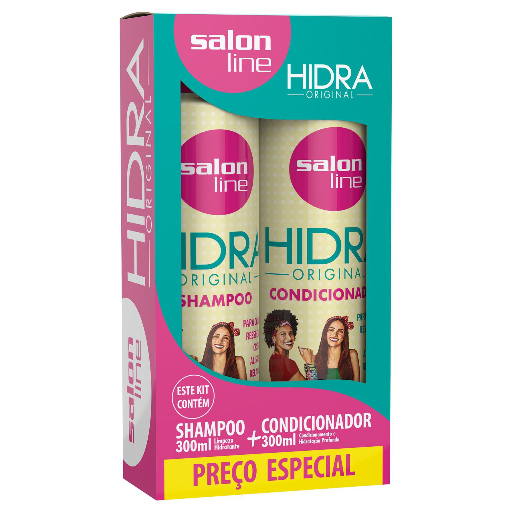 Salon Line Kit Shampoo + Condicionador Hidra Original