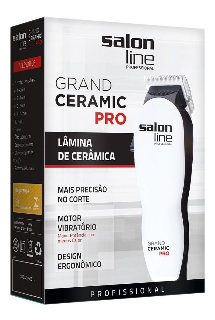 Salon Line Máquina de Corte Grand Ceramic Pro 110V