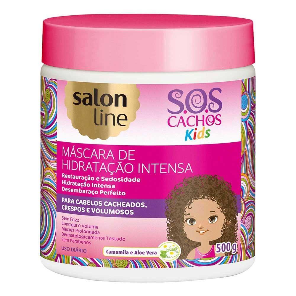 Salon Line Máscara S.O.S Cachos Kids Hidratação Intensa 500g