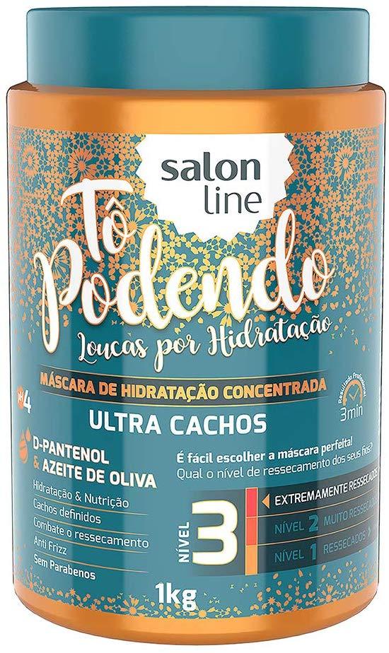 Salon Line Máscara Tô Podendo Loucas por Hidratação Ultra Cachos 1Kg