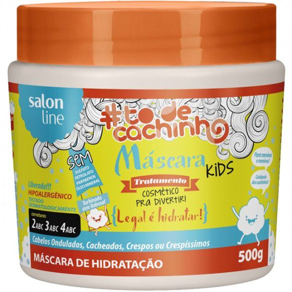Salon Line Máscara #TodeCachinho Kids Tratamento Legal é Hidratar 500g