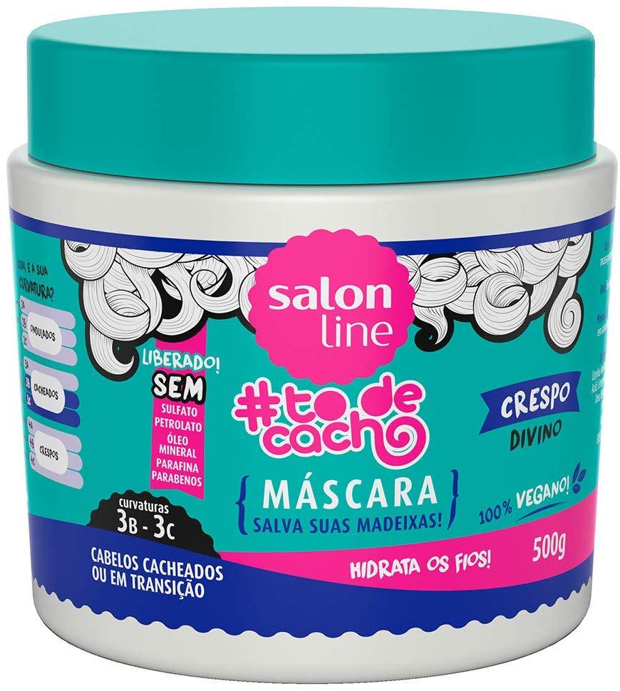 Salon Line Máscara #TodeCacho Crespo Divino Salva Suas Madeixas 500g