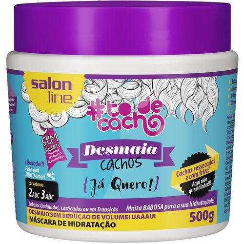 Salon Line Máscara #TodeCacho Desmaia Cachos Já Quero 500g