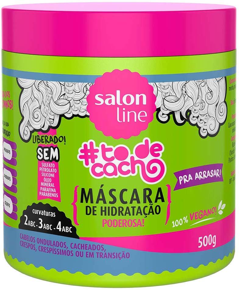 Salon Line Máscara #TodeCacho Para Hidratação Pra Arrasar Poderosa 500g