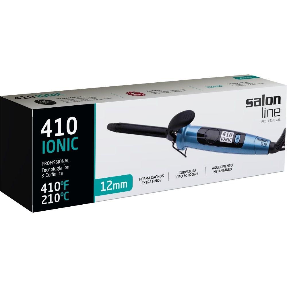 Salon Line Modelador 410 Ionic 12mm 210°C Bivolt