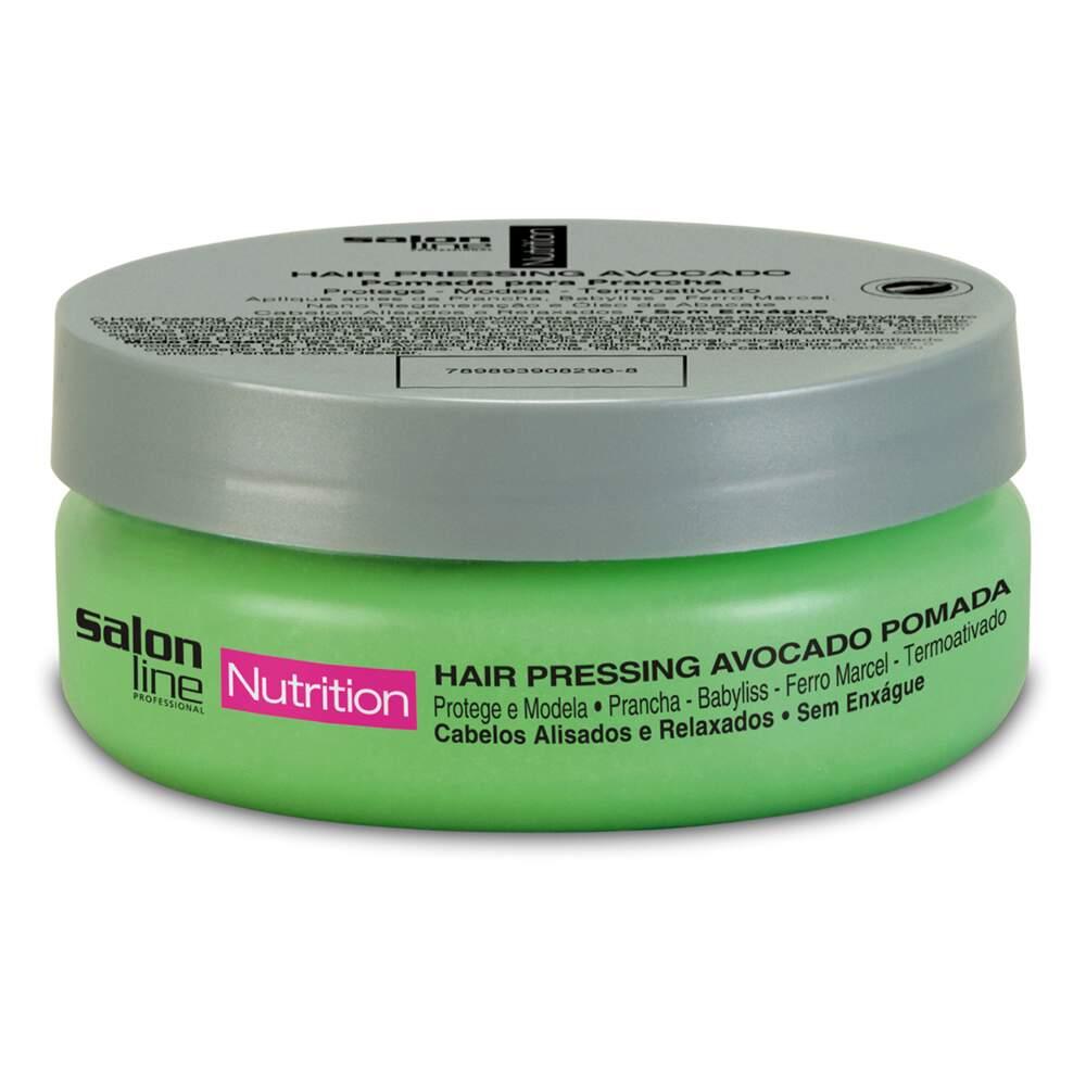 Salon Line Pomada Hair Pressing Avocado 130g