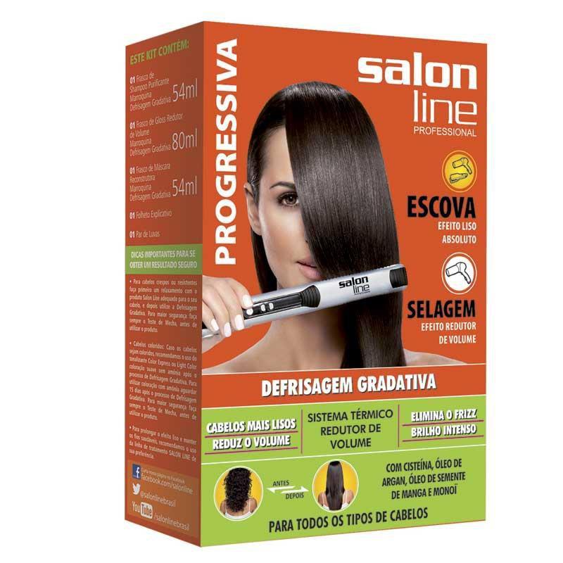 Salon Line Progressiva Defrisagem Gradativa