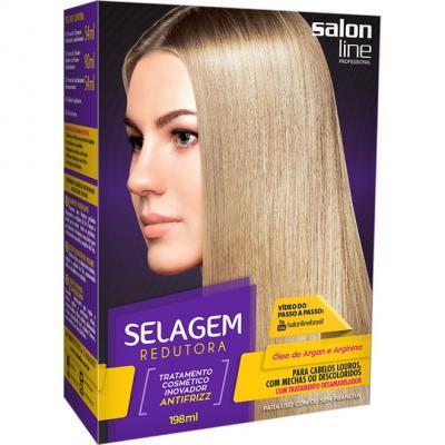 Salon Line Selagem Redutora para Cabelos Louros 198ml
