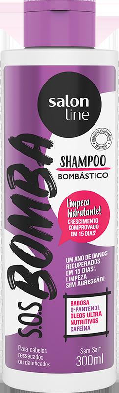 Salon Line Shampoo S.O.S Bomba Bombástico 300ml