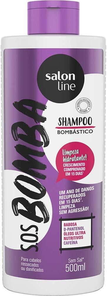 Salon Line Shampoo S.O.S Bomba Bombástico 500ml