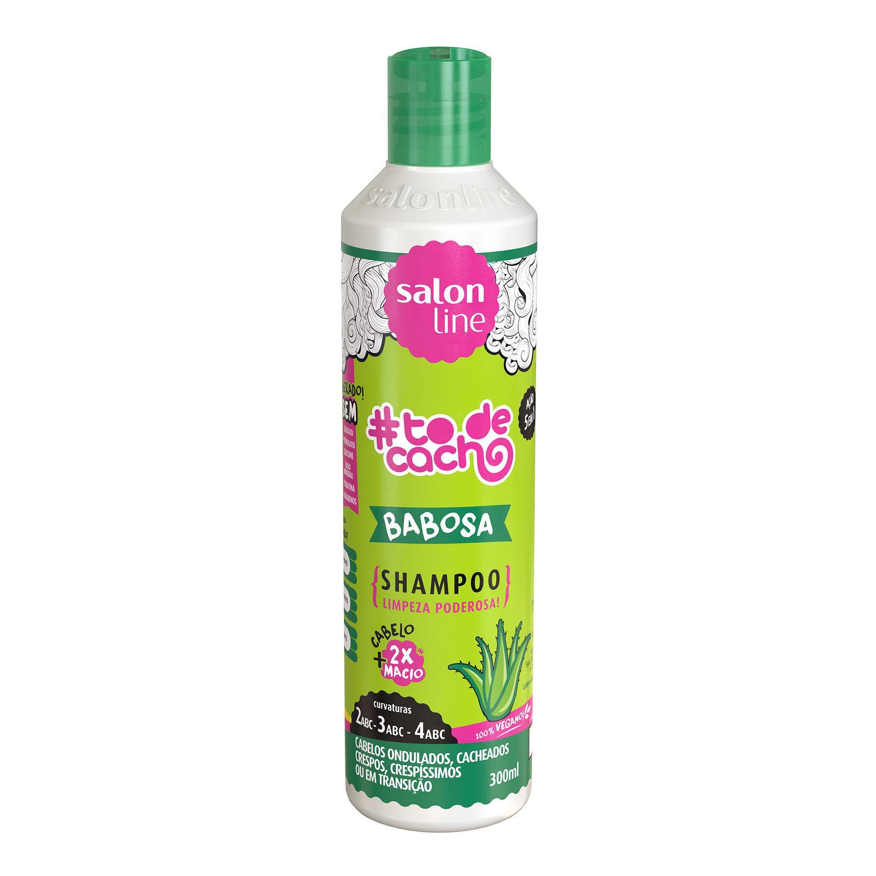 Salon Line Shampoo #TodeCacho Babosa  300ml