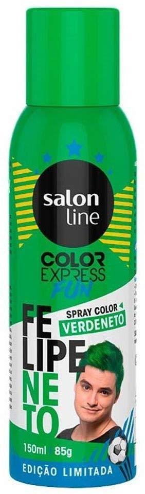 Salon Line Spray Color Express Fun Verdeneto 150ml