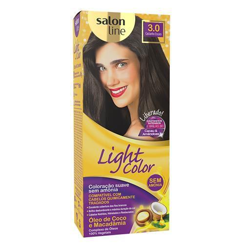 Salon Line Tonalizante Light Color 3.0 Castanho Escuro