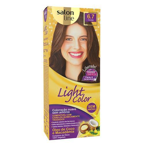 Salon Line Tonalizante Light Color 6.7 Chocolate