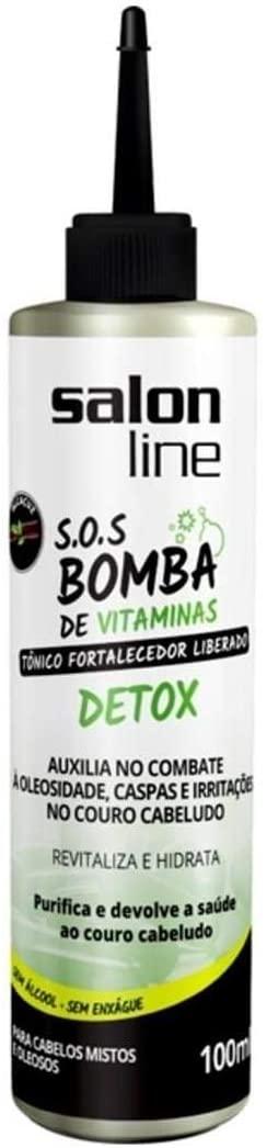 Salon Line Tônico Fortalecedor S.O.S Bomba Detox 100ml