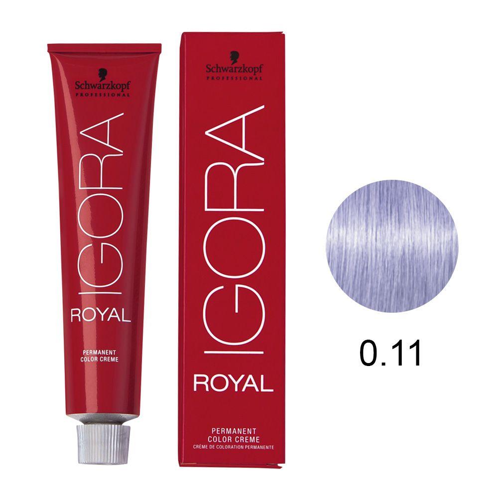 Schwarzkopf Igora Royal Coloração Permanente 0.11 60g