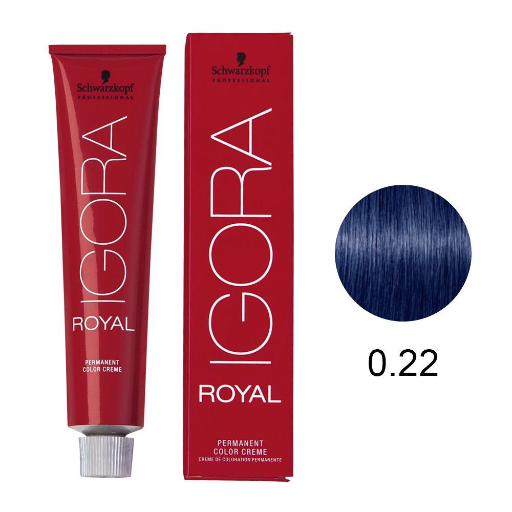 Schwarzkopf Igora Royal Coloração Permanente 0.22 60g