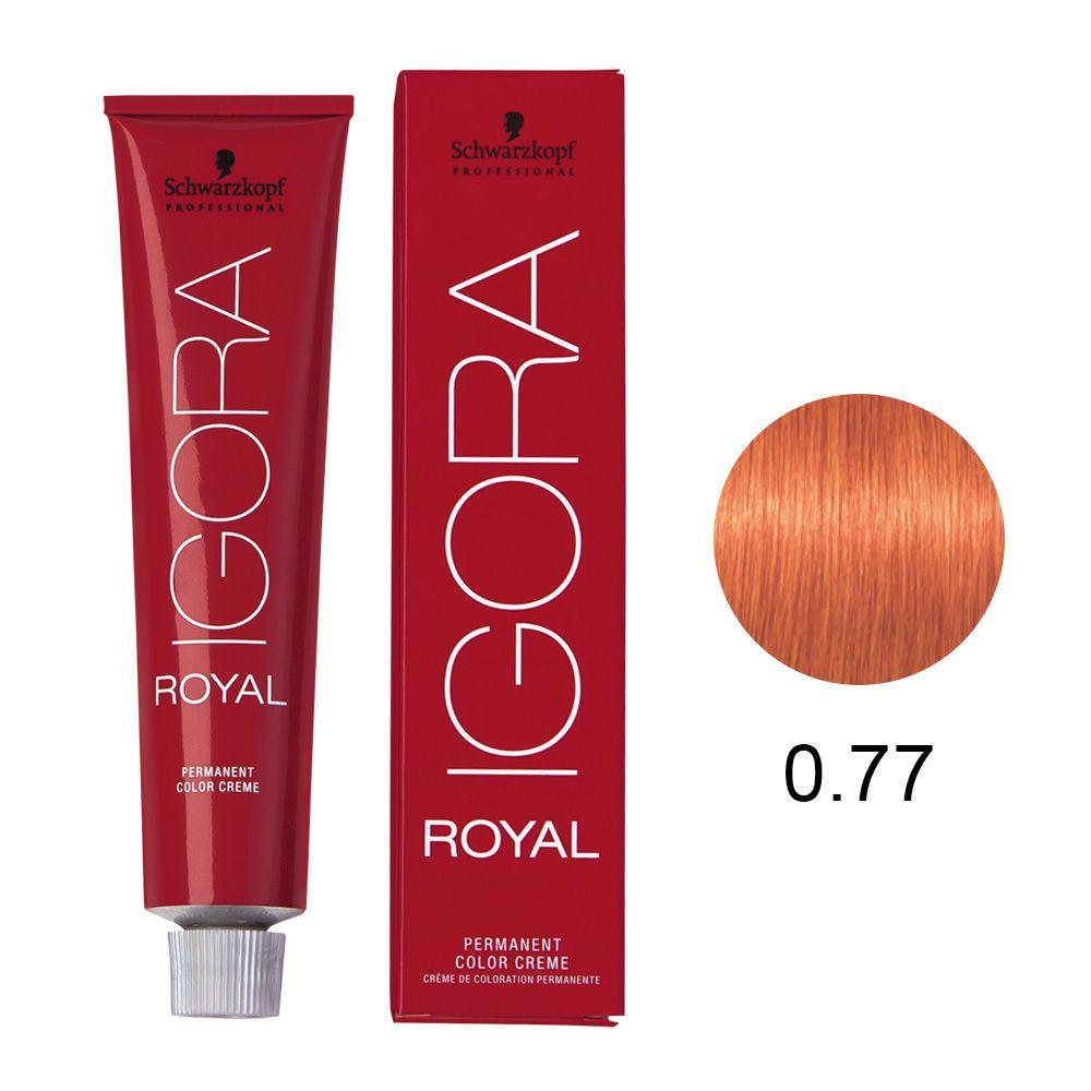Schwarzkopf Igora Royal Coloração Permanente 0.77 60g