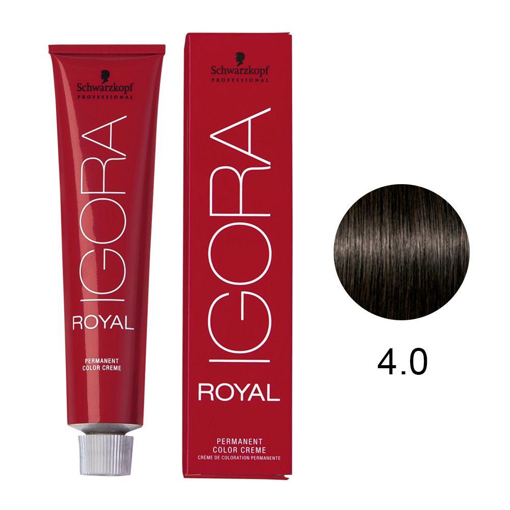 Schwarzkopf Igora Royal Coloração Permanente 4.0 60g