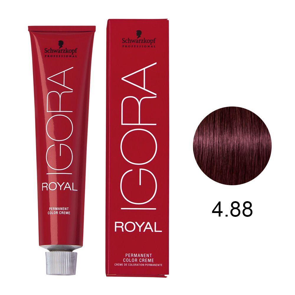 Schwarzkopf Igora Royal Coloração Permanente 4.88 60g
