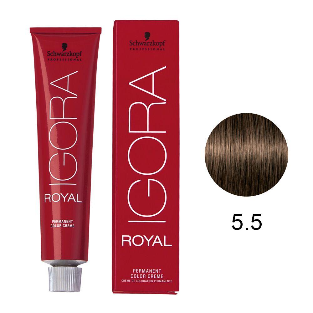 Schwarzkopf Igora Royal Coloração Permanente 5.5 60g