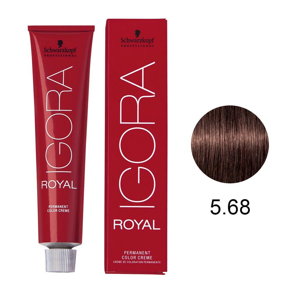 Schwarzkopf Igora Royal Coloração Permanente 5.68 60g
