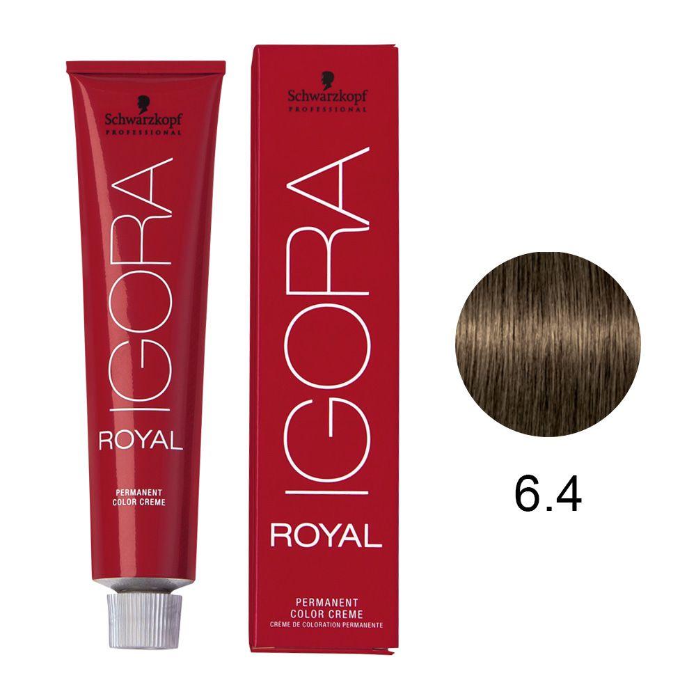Schwarzkopf Igora Royal Coloração Permanente 6.4 60g