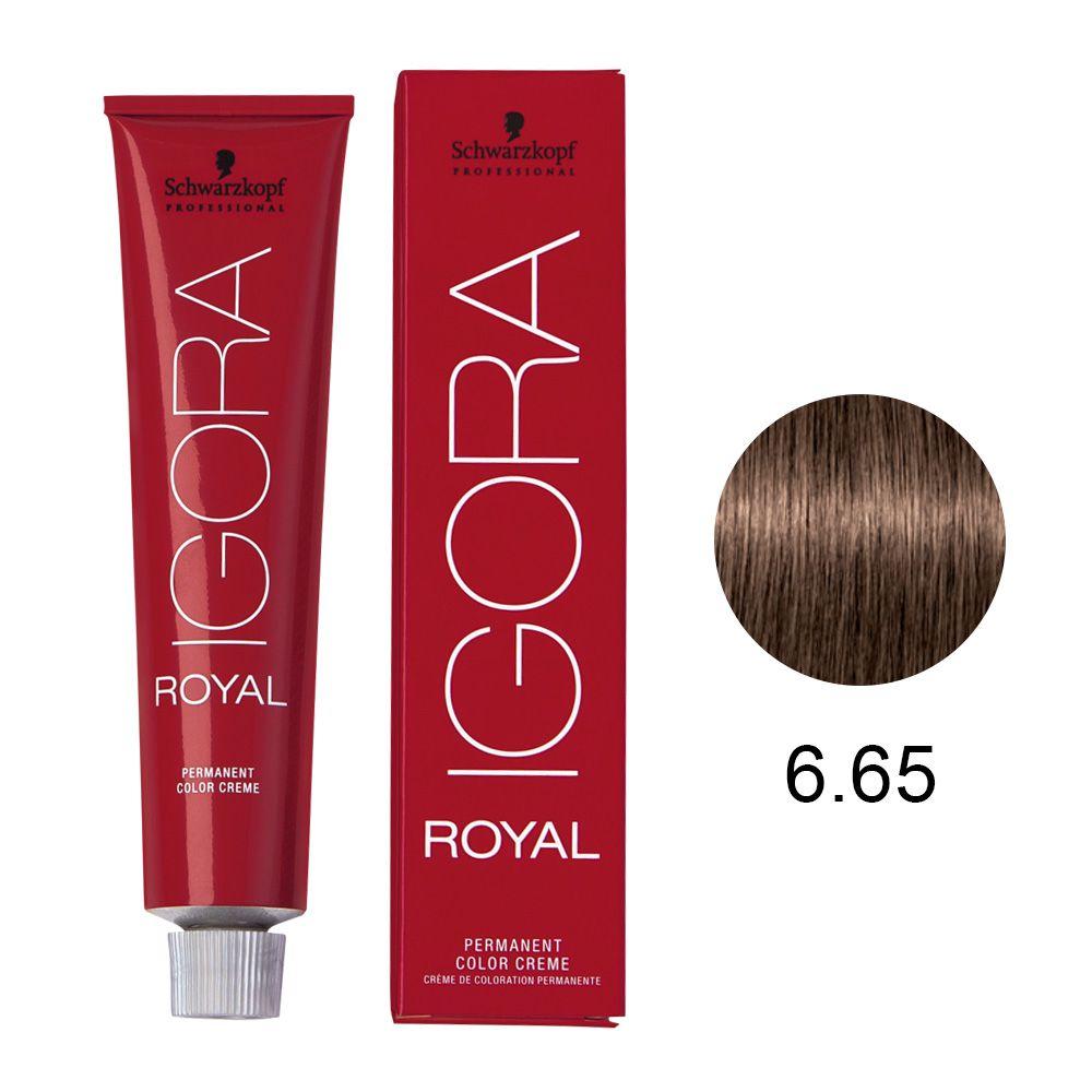 Schwarzkopf Igora Royal Coloração Permanente 6.65 60g